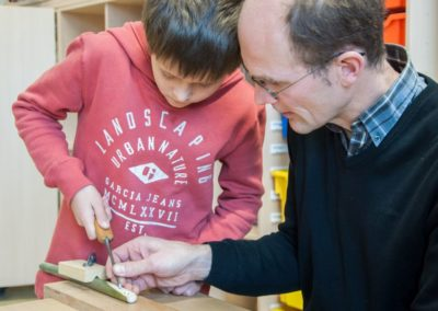 Workshop Pfeifenbau beim Orgelentdeckertag 2016 | Foto: Ulf Pankoke