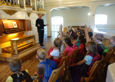 Orgelentdeckertag mit Kantor Christoph Slaby in St. Martin Seelze | Bild: Christoph Slaby