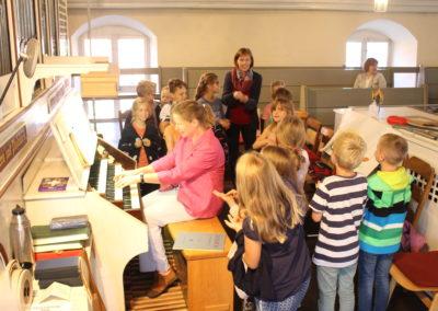 Orgelentdeckertag mit Kreiskantorin Imke Weitz in St. Pankratius Hankensbüttel | Bild: privat