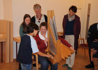 Orgelentdeckertag mit Annegret Schönbeck in St. Petri Buxtehude | Bild: Karin Lankuttis