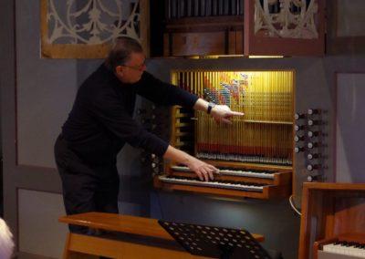 Orgelentdeckertag mit Kirchenmusiker Alfons von Tegelen in St. Dionysius Bad Fallingbostel | Bild: Privat