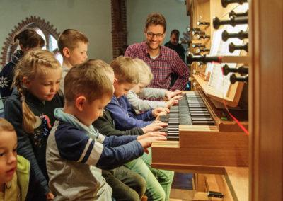 Orgelentdeckertag mit Kantor Wolfgang Hofmann in St. Paulus Buchholz | Bild: Privat