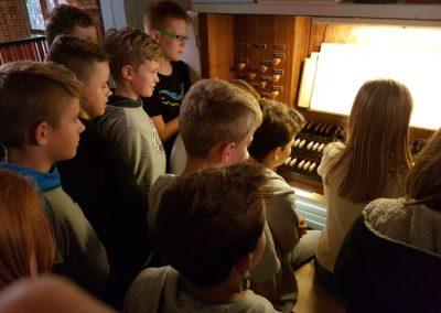Orgelentdeckertag mit Kreiskantorin Eva Schad in der Christuskirche Bremerhaven | Bild: Eva Schad